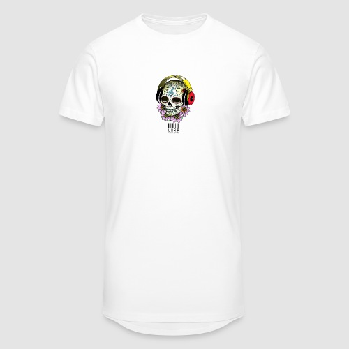 smiling_skull - Men's Long Body Urban Tee