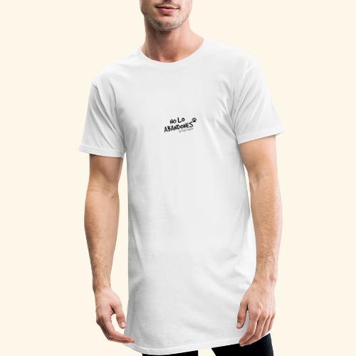noloabandones negro - Camiseta urbana para hombre