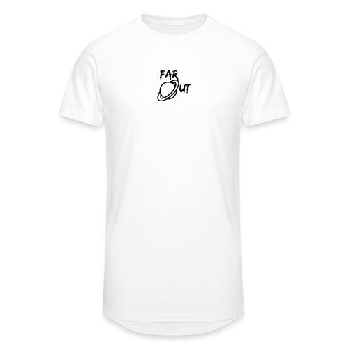 Far_Out_black - Camiseta urbana para hombre
