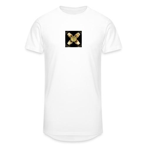 Spinneri paita - Miesten urbaani pitkäpaita
