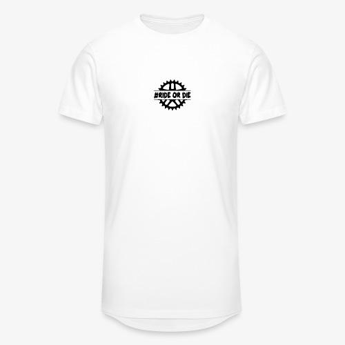 Brustlogo - Männer Urban Longshirt