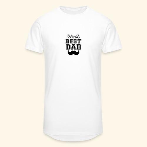 Worlds best dad - Herre Urban Longshirt