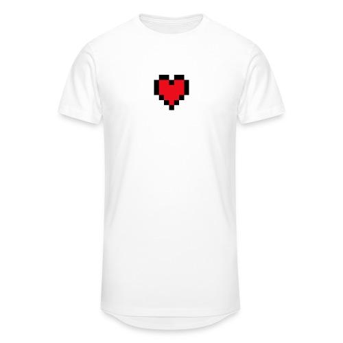 Pixel Heart - Mannen Urban longshirt