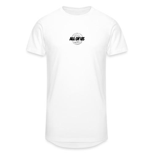 all of us bw - Männer Urban Longshirt