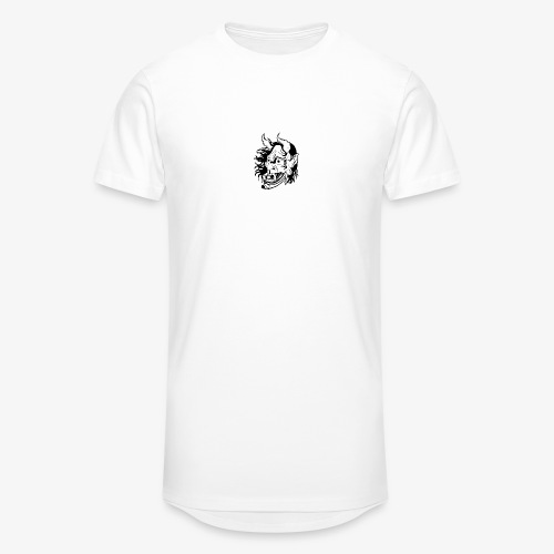 hannya - T-shirt long Homme