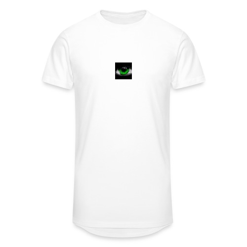 Green eye - Men's Long Body Urban Tee