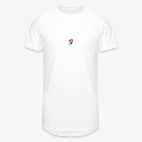 Elemental Retro logo - Men's Long Body Urban Tee