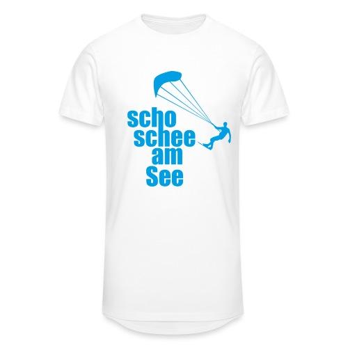 scho schee am See Surfer 01 kite surfer - Männer Urban Longshirt