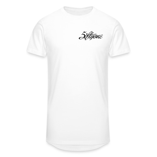 5iftyone Logo basic - Men's Long Body Urban Tee