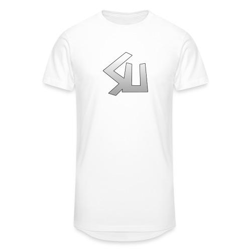 Plain SU logo - Men's Long Body Urban Tee