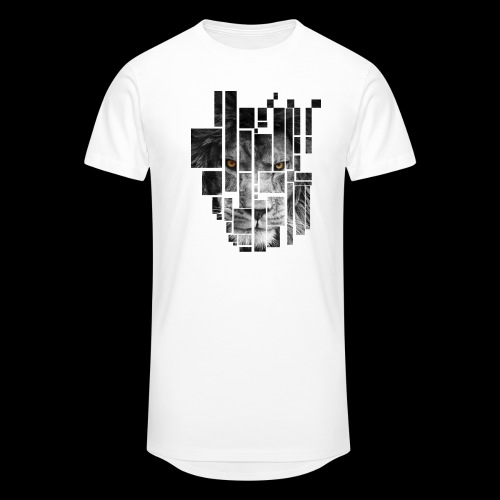 Pixel Lion Tattoo Inspire - Men's Long Body Urban Tee