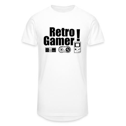 Retro Gamer! - Men's Long Body Urban Tee