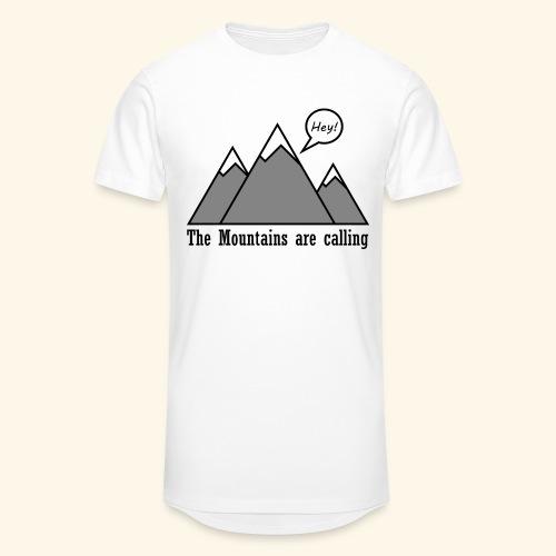 mountains calling - Männer Urban Longshirt