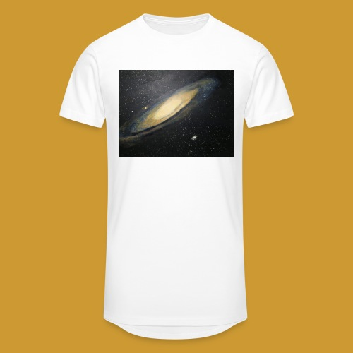 Andromeda - Mark Noble Art - Men's Long Body Urban Tee
