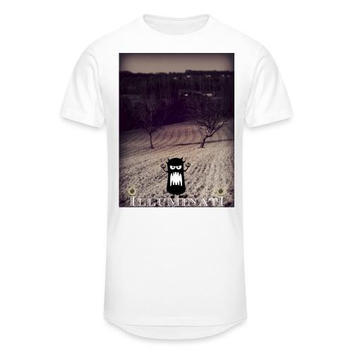 illuminati - T-shirt long Homme