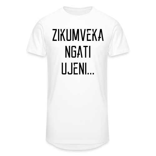 Zikumveka Ngati Black - Men's Long Body Urban Tee