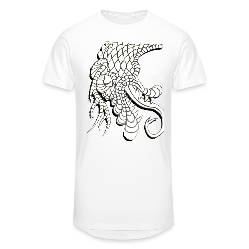 Design Number (6) - Men's Long Body Urban Tee