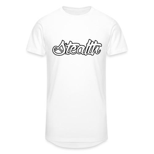Stealth White Merch - Men's Long Body Urban Tee