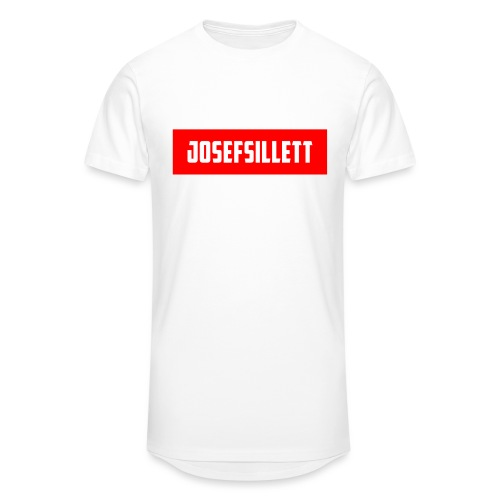 Josef Sillett Red - Men's Long Body Urban Tee