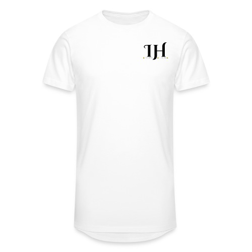 IHC ML Triangle logo Transparent png - Men's Long Body Urban Tee