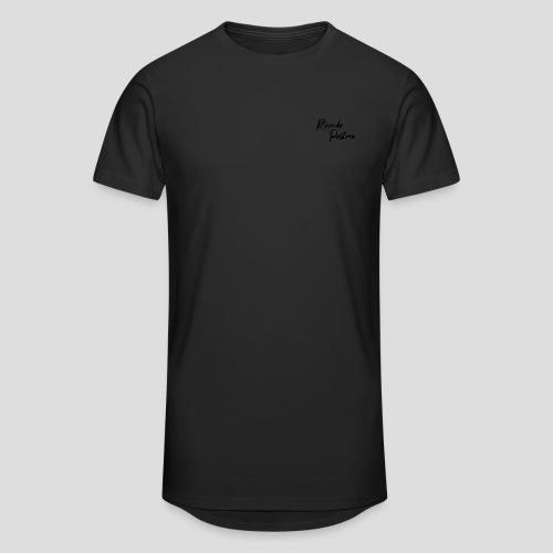 Branding - Black logo - Mannen Urban longshirt