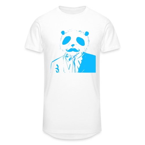 BluePanda Logo - Men's Long Body Urban Tee