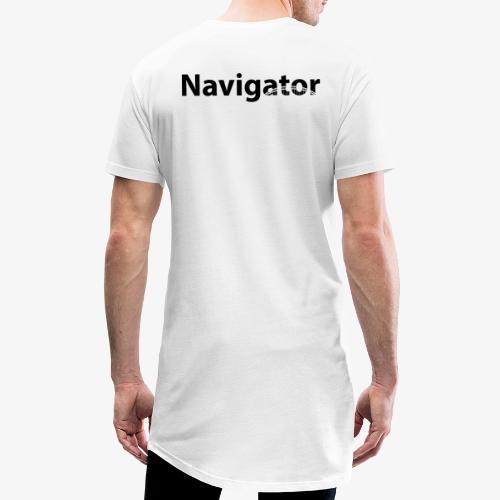 Navigator VIO combinatie zwart - Mannen Urban longshirt