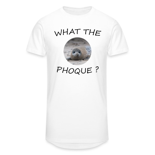 WHAT THE PHOQUE - T-shirt long Homme