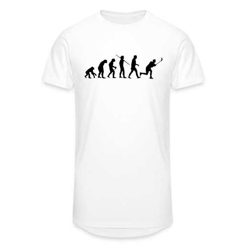 Floorball Evolution Black - Männer Urban Longshirt