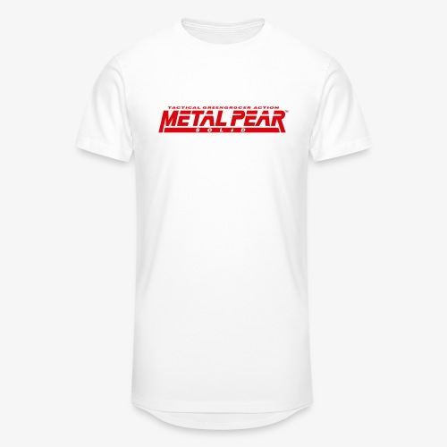 Metal Pear Solid: Tactical Greengrocer Action - Men's Long Body Urban Tee
