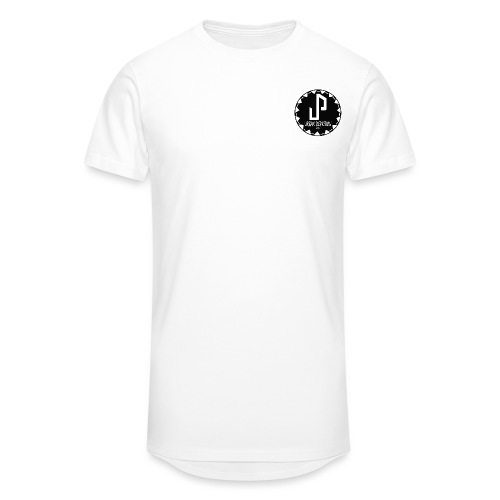Logo Circle type 1 png - Men's Long Body Urban Tee