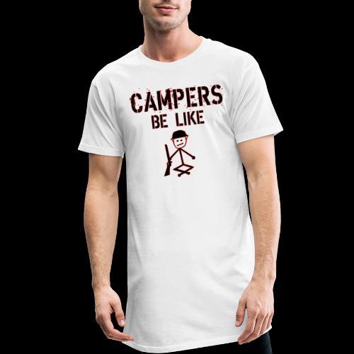 Camper Gaming - Männer Urban Longshirt