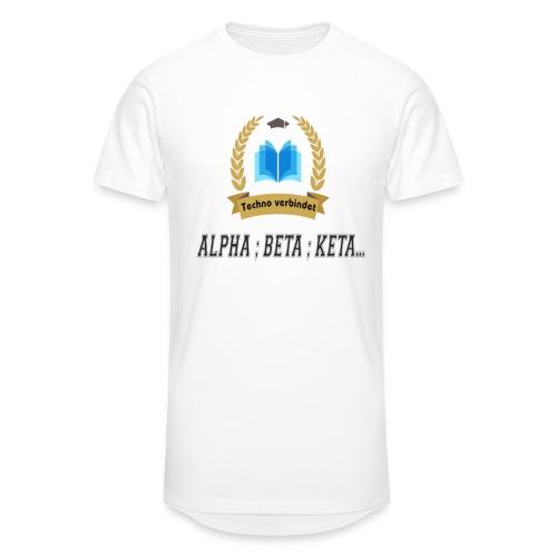 Techno verbindet - Männer Urban Longshirt
