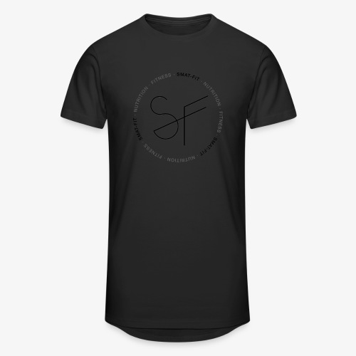 SMAT FIT nutrition & fitness white home - Camiseta urbana para hombre