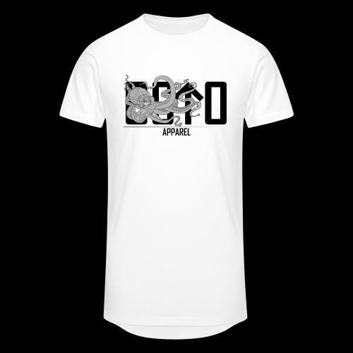 OctoApparel Logo schwarz - Männer Urban Longshirt