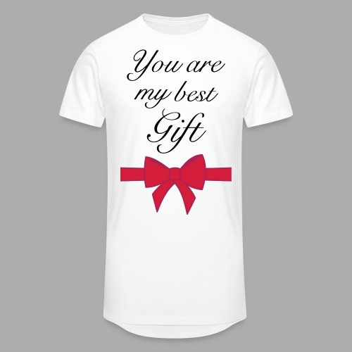 you are my best gift - Men's Long Body Urban Tee