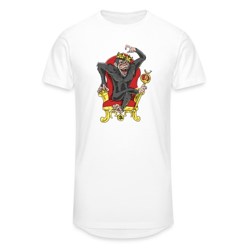 Bitcoin Monkey King - Beta Edition - Männer Urban Longshirt