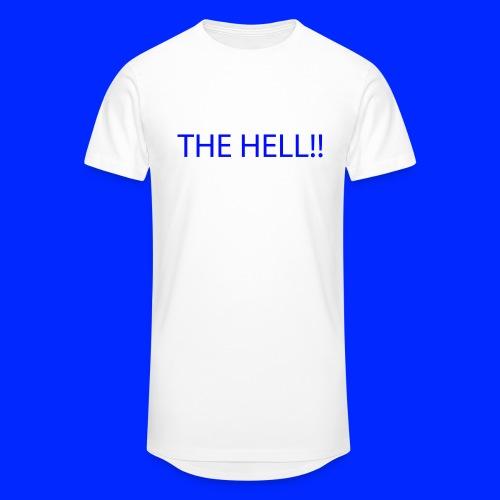 THE HELL!! - Urban lång T-shirt herr