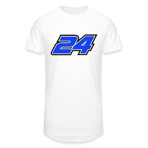 Num 24 Nicolas Charlier - T-shirt long Homme