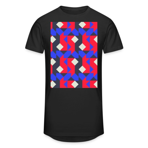 Abstact T-Shirt #1 - Men's Long Body Urban Tee