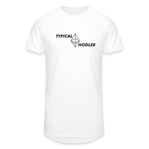 Typical ETH Hodler - Men's Long Body Urban Tee
