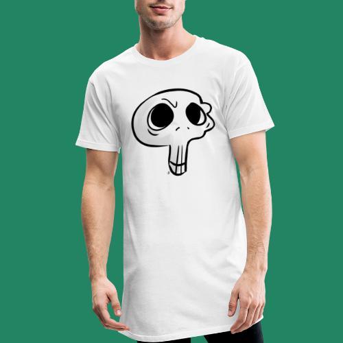 Skull - T-shirt long Homme