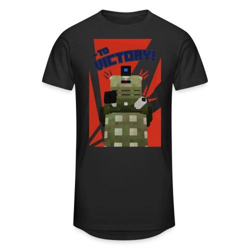Dalek Mod - To Victory - Men's Long Body Urban Tee