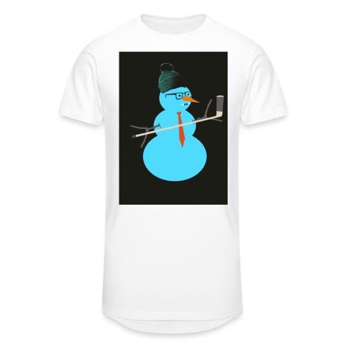 Hockey snowman - Miesten urbaani pitkäpaita
