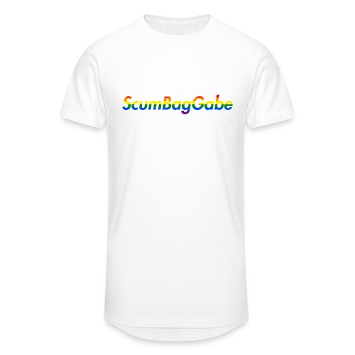 ScumBagGabe Multi Logo XL - Men's Long Body Urban Tee