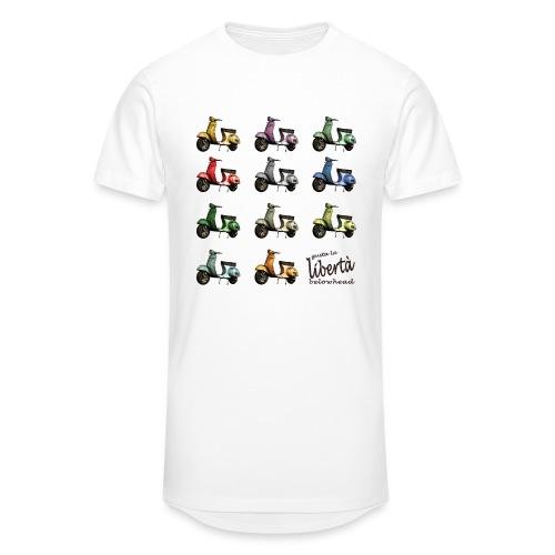 ♂ BIO-SHIRT: gusta la libertà - Männer Urban Longshirt