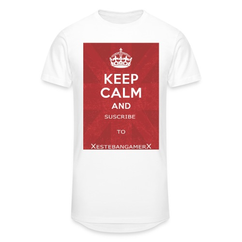 Keep Calm and PRO ART jpg - Men's Long Body Urban Tee