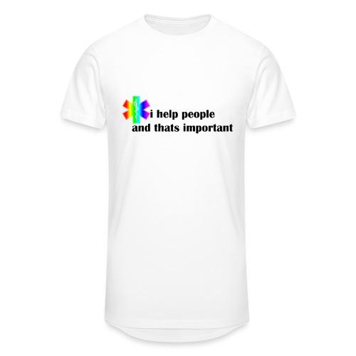 i help people - Mannen Urban longshirt