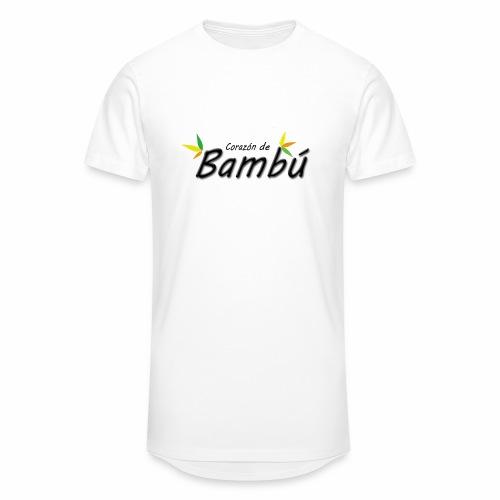 Corazón de bambú - Camiseta urbana para hombre