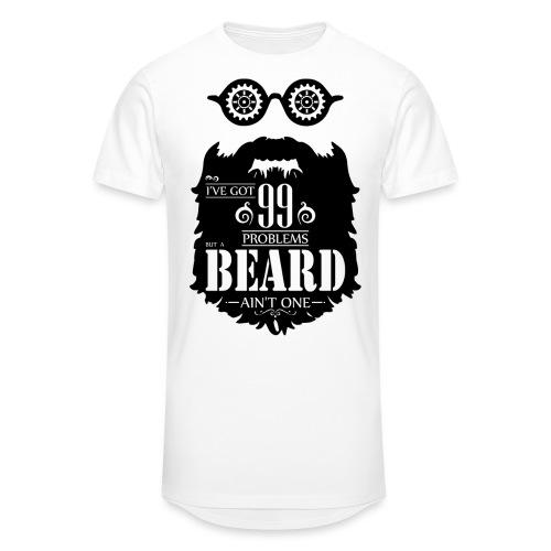 99 Problems Beard - Miesten urbaani pitkäpaita